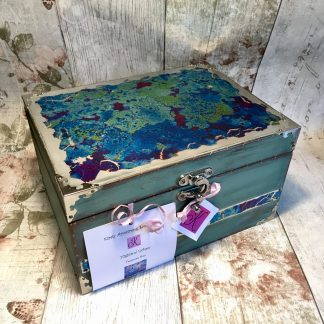 Decorative memory box