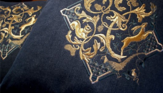 Embroidered GOLD by Pauline