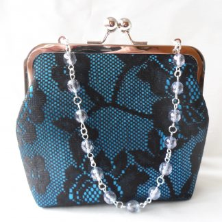 Small lace evening bag