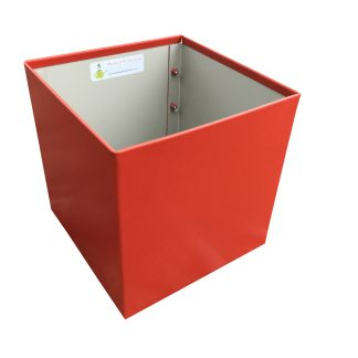 Metal Cube Red