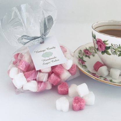 bag of sugar heart favours