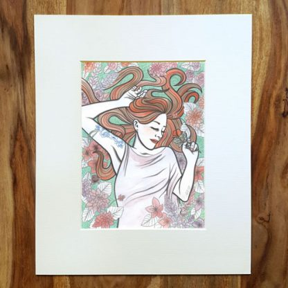 'Lucy' Limited Edition Giclee Print by Mel Langton Art