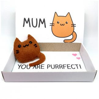 Cute cat Mother's day gift
