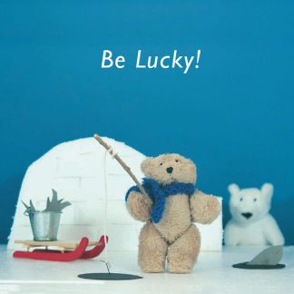 Busy Ted - be lucky