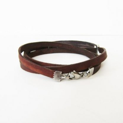mens womens coordinates leather wrap