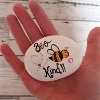 bee kind pebble