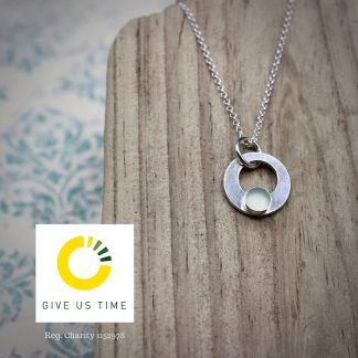 GIVE US TIME W&T Necklace With Logo