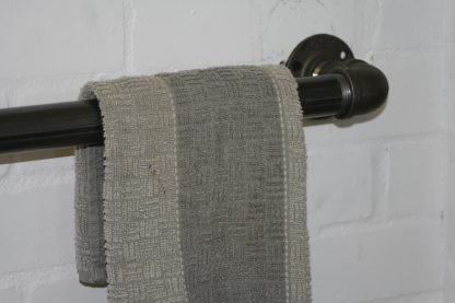 Industrial Towel Rail Made with Steel and Wrought Iron British craft house