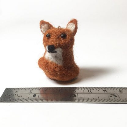 needle felted woodland creatures bag charms