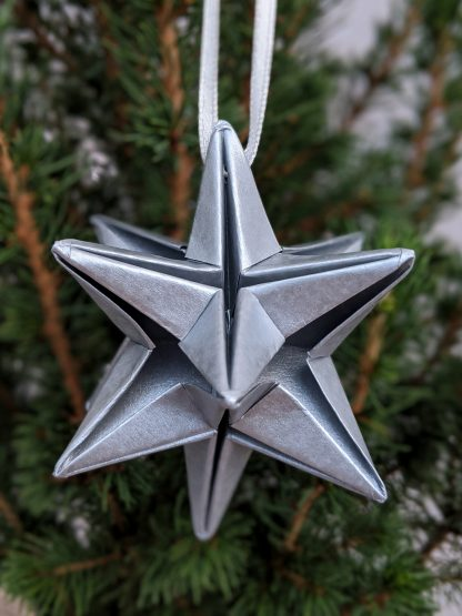 silver star on tree