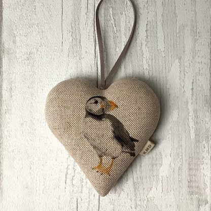 Puffin Hanging Heart