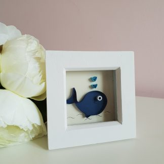 paper quilling whale art