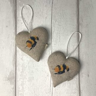 Bee Hanging Heart