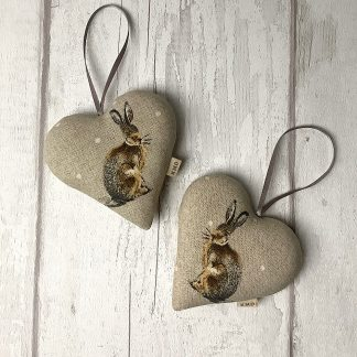 Hanging Heart - Hare