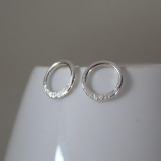 Sterling Silver Eclipse Studs