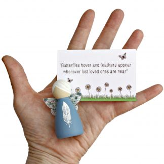 white feather bereavement gift