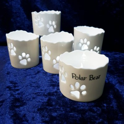 personalised remembrance tealight for pet