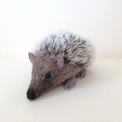 needle felted made to order hedgehog