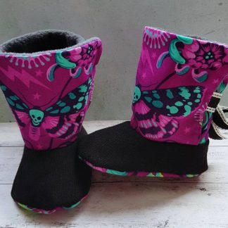 death moth baby boots