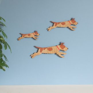 Jack russell terrier wall hangings