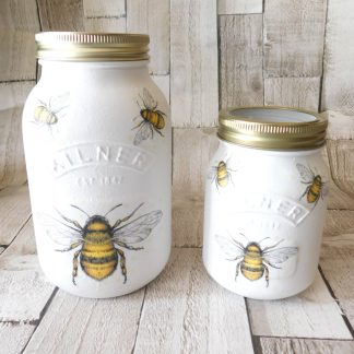 Honey Bee Utensil Jar