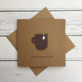 Crofts Crafts Valentine's Day Card - you're my cup of tea