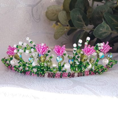 Scottish themed tiara