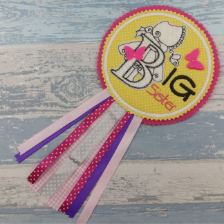 Big Sister Celebration Badge
