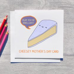 Cheesey Mother's Day card