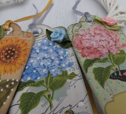 Flowers Gifts Labels