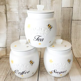 Bumble Bee Kitchen Canisters