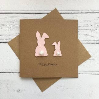 Crofts Crafts Easter card - bunnies