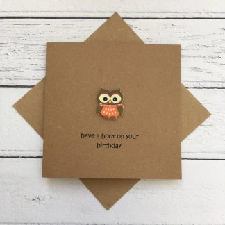 Crofts Crafts have a hoot on your birthday card