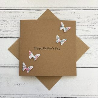 Crofts Crafts Mother's Day Card - butterflies