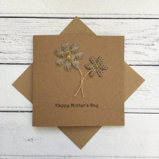 Crofts Crafts Mother's Day Card - flowers