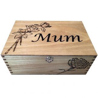 mum wooden box