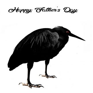 Heron Father's Day Card