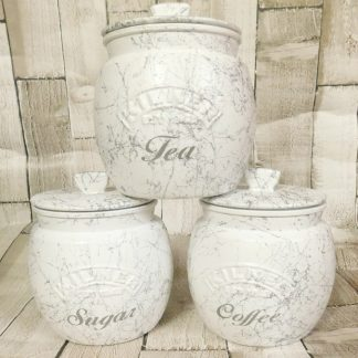 Marble Kitchen Canisters