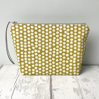 Cosmetic Bag - Yellow Spot