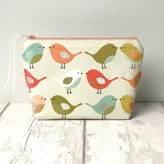Cosmetic Bag - Colourful Birds