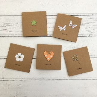 Crofts Crafts mini thank you cards