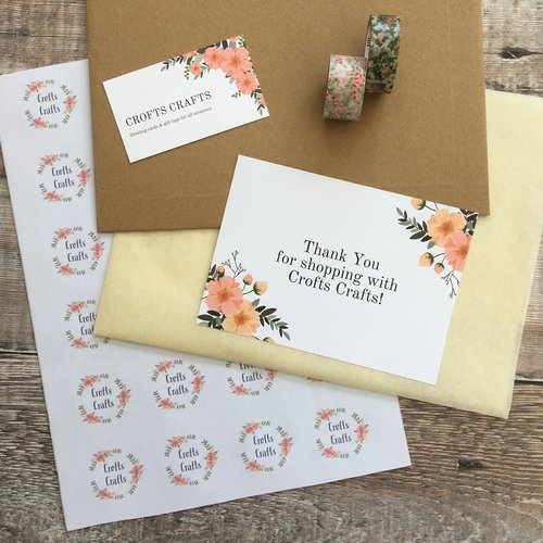 Crofts Crafts packaging