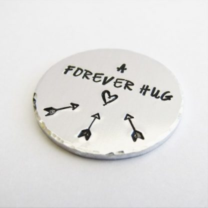 a forever hug pocket coin token