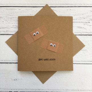 Crofts Crafts get well soon card