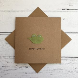 Crofts Crafts hap-pea birthday card