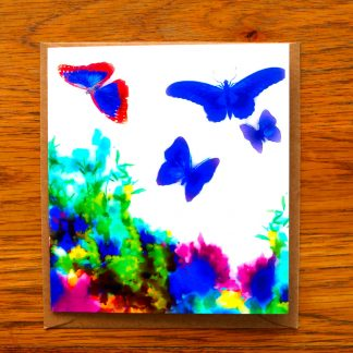 Butterflies in Flowers Mother's Day Card