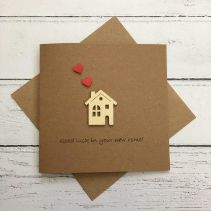 Crofts Crafts New Home Card