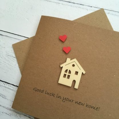 Crofts Crafts new home card close up