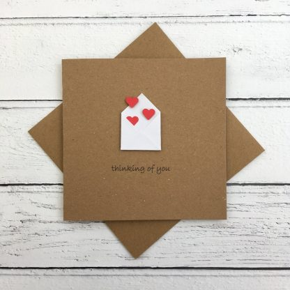 Crofts Crafts thinking of you card