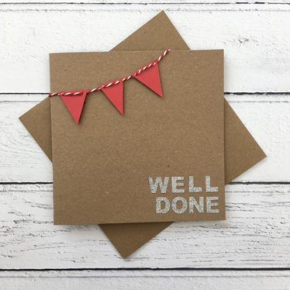 Crofts Crafts well done bunting card